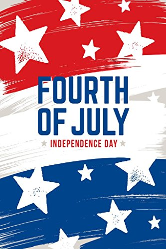 Fourth of July Independence Day Celebration Art Print Poster 24x36 inch