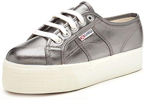 Superga2790 Cotmetw - Zapatillas mujer, color gris, talla 37