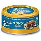 Loma Linda Tuno - Plant-Based - Lemon Pepper (5 oz.) (Pack of 12) - Non-GMO, Ocean Safe, Omega 3, Seafood Alternative