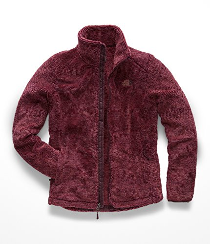 The North Face Womens Osito 2 Jacket - Fig & Faded Rose Stripe - (Faded Stretch Jacket)