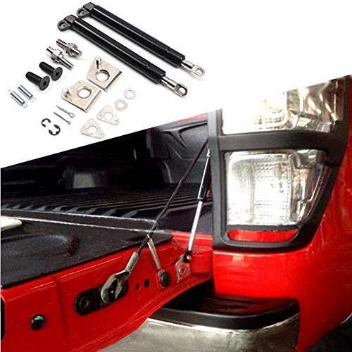 HEQIANG Two Sets of Tailgate Lift Support Rear Door Slow Down Shock Up Struts for 2012 2013 2014 2015 2016 PX XLT T6 Ford Ranger Pickup Truck ()