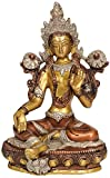 Green Tara (Sgrol ma ljang khu) - Brass Statue