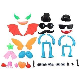 Homiki Sungpunet Giocattolo educativo per i Bambini Cristallo di Colore del Fango di Argilla Fango Accessori di Stampo Fai da Te Accessori Divertenti 1 Gioco