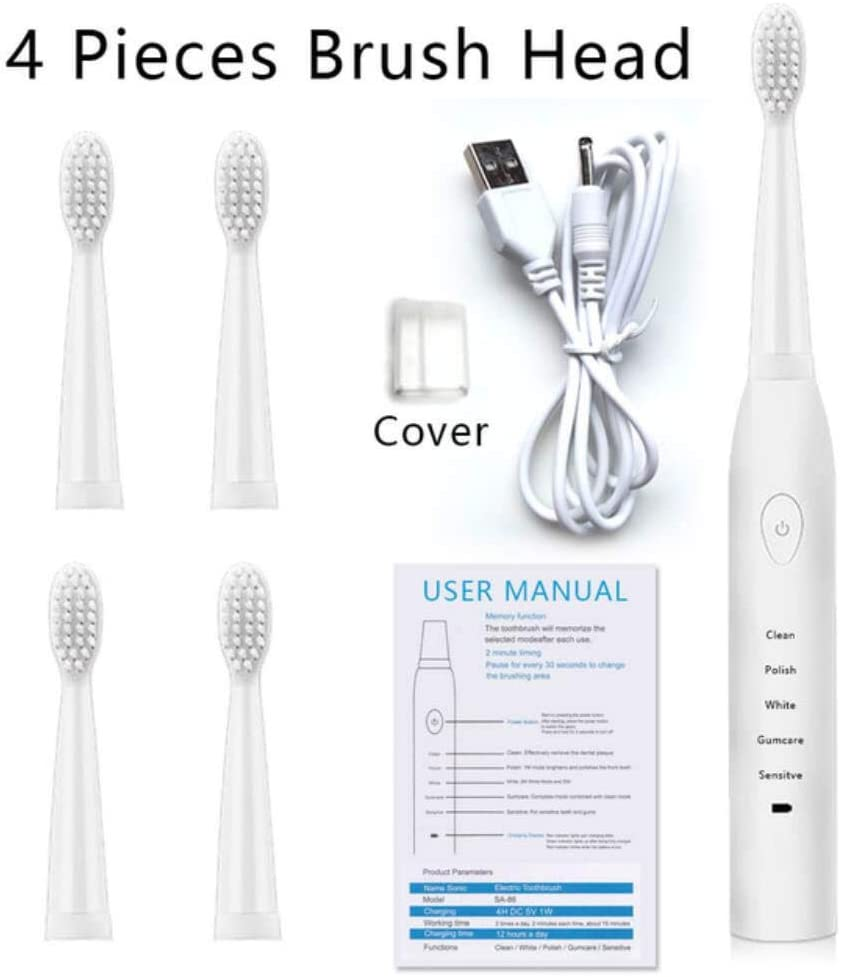 Hbno Home Ultrasonic Electric Toothbrush Dental Scaler Tooth