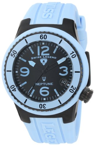Swiss Legend Women's 11840P-BB-01-BBL Neptune Watch with Blue Strap