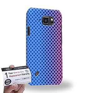 Case88 [Samsung Galaxy S6 Active] 3D impresa Carcasa/Funda dura para & Tarjeta de garantía - Art Fashion Sunset Halftones Fashionista