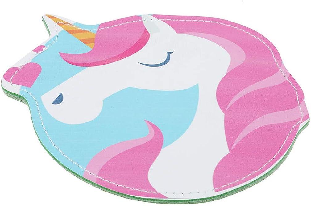 LJSLYJ Womens Lovely 3D Cartoon Unicorn Mini Pouch Coin Purse Zipper Bag Keychain Wallet Pouch