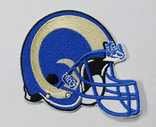 (NFL ST. Louis RAMS Helmet Embroidered Logo Patch 3 1/2