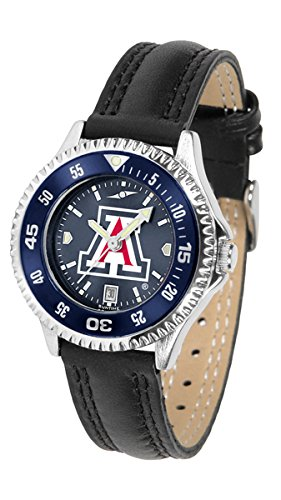Linkswalker Ladies Arizona Wildcats Competitor Ladies' Anochrome Bezel Watch