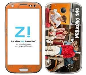 Zing Revolution One Direction Premium Vinyl Adhesive Skin for Samsung Galaxy S III - Retail Packaging - Van