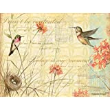 Lang Hummingbirds Deluxe Note Card Set by Susan Winget, 5.25 x 4 Inches, 12 Cards and Envelopes (2080513)