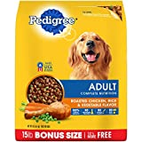 PEDIGREE Complete Nutrition Adult Dry Dog Food Roasted Chicken, Rice & Vegetable Flavor, 15 lb. Bag