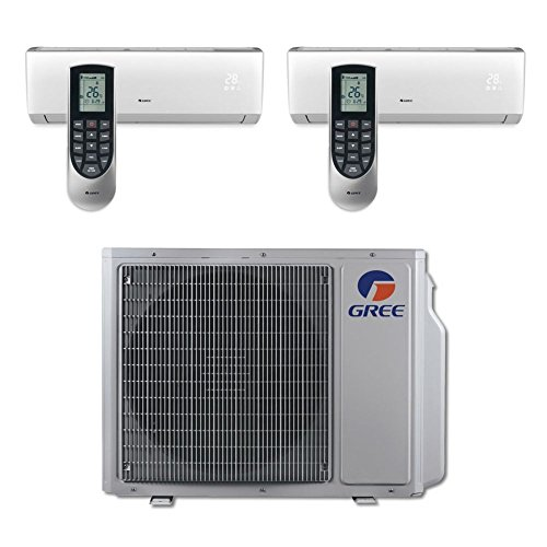 gree-multi21-dual-zone-vireo-ductless-mini-split-system-30000-btu-inverter-heat-pump-12k-18k-indoor-