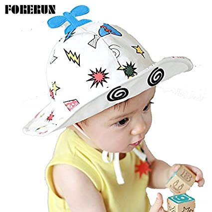 ad50a29117ee Buy Generic YELLOW   2016 New Baby Hat Helicopter Print Kids Bucket ...