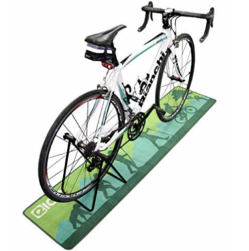 New Mountain Bike / Garage / Turbo Trainer Hallway / Floor Mat (180cm x 40cm) by Polarbear's Shop