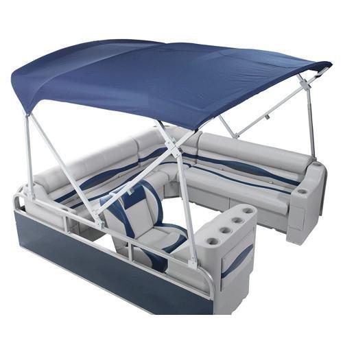 DeckMate Heavy Duty Pontoon Boat Tops (8'W x 8' L Pontoon Bimini)