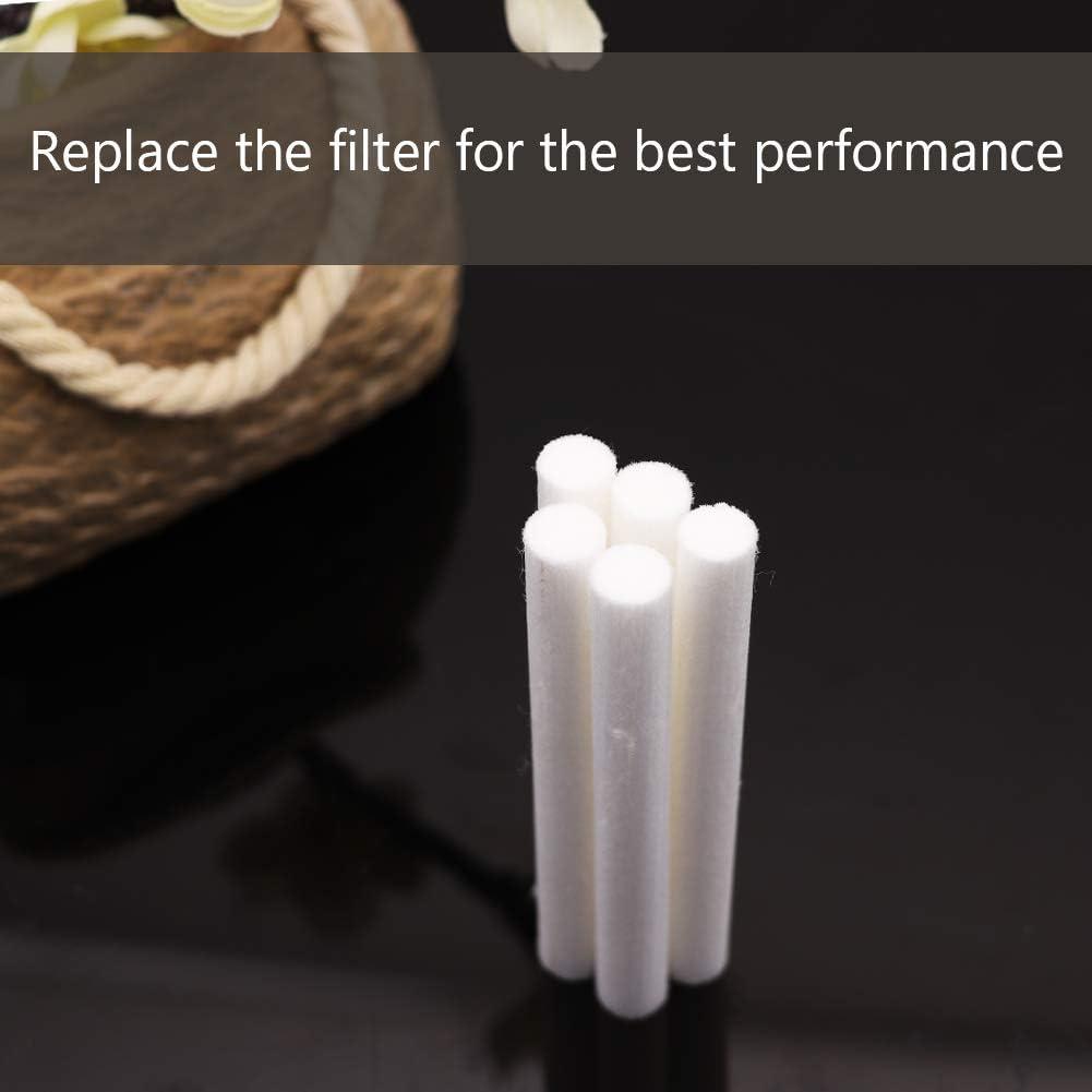 AIRICH 5 Pcs Filtros De Humidificador Palos Reemplazos De Humidificador USB Esponjas De Repuesto Recambio Palo Humidificador Difusor Palos de Algod/ón