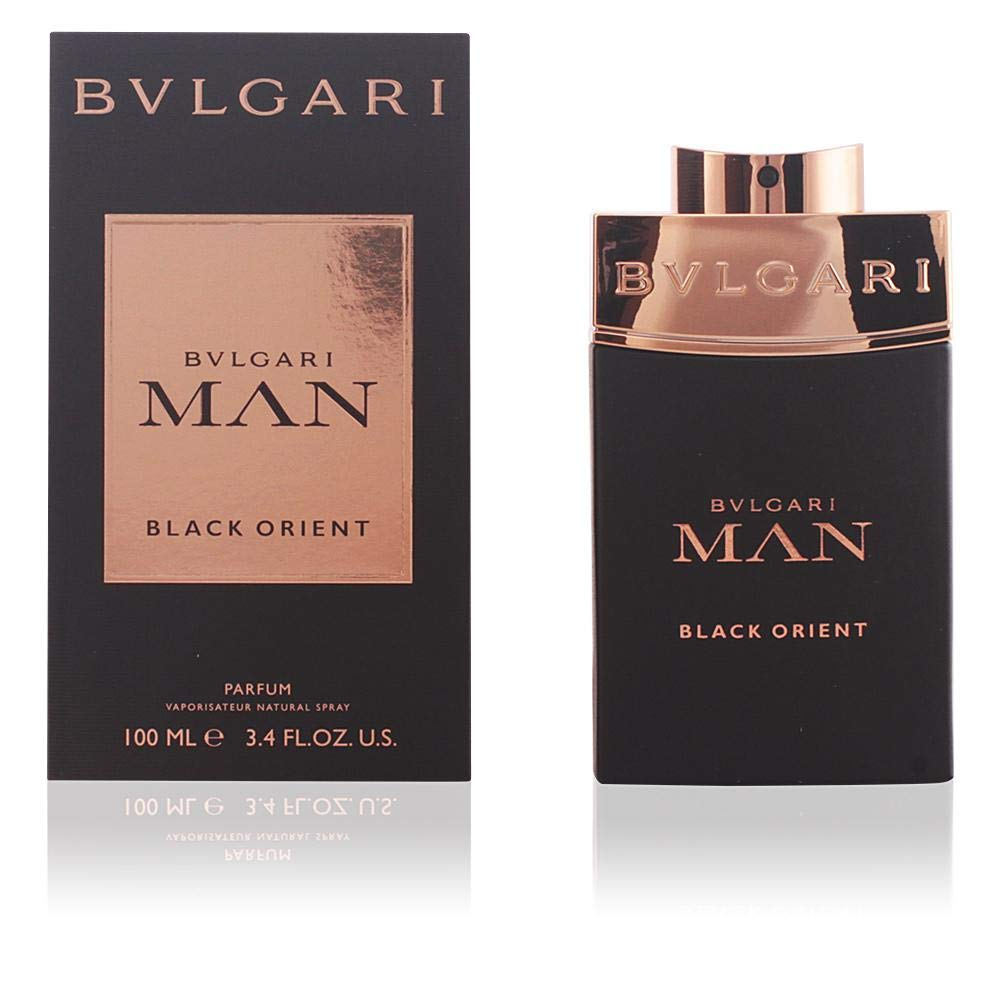 deb6a8229b Amazon.com : Bvlgari Bvlgari Man Black Orient By Bvlgari for Men - 3.4 Oz  Edp Spray, 3.4 Oz : Beauty