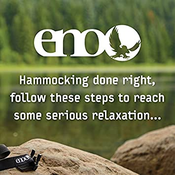 ENO Eagles Nest Outfitters – DoubleNest Hammock, Portable Hammock for Two, Emerald Yellow