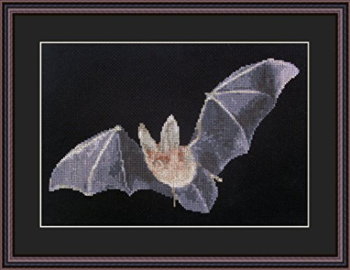 (Bat Catch Counted Cross Stitch Kit By Orcraphics)