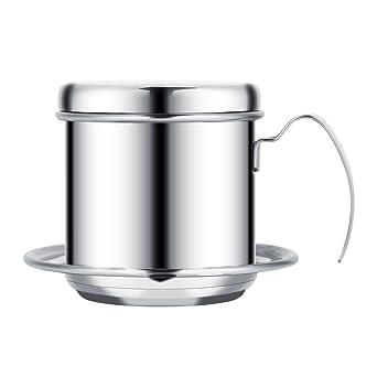 Filtro de café, taza de acero inoxidable, café vietnamita ...