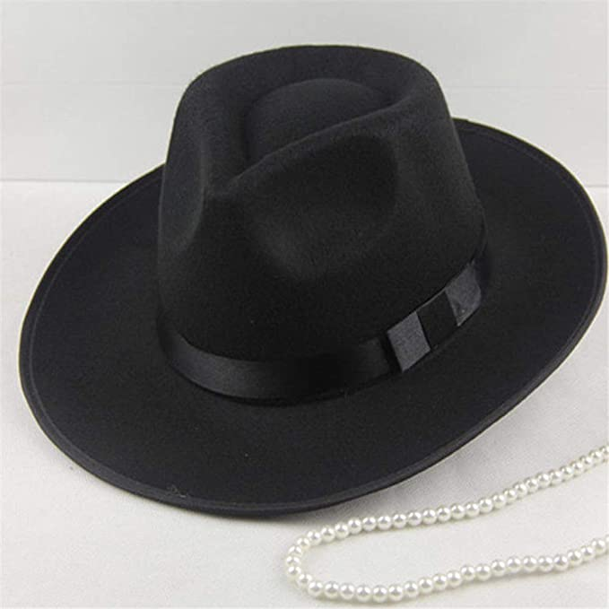 a6ec185b5 Amazon.com: Sun Visor Men Women Hard Felt Wide Brim Fedora Panama ...