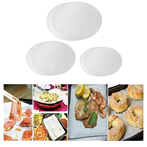 ng Circles Set - 4 inch, 7 inch, 9 inch Non-stick Round Baking Paper. ()