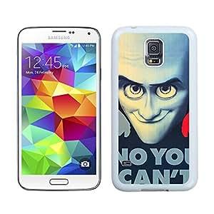 New Unique Designed Cover Case For Samsung Galaxy S5 I9600 G900a G900v G900p G900t G900w With Megamind Samsung Galaxy S5 White Phone Case 276