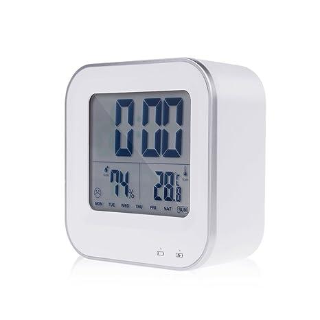 tianqin WY viajes alarma reloj batería digital reloj digital termómetro y medidor de temperatura (C