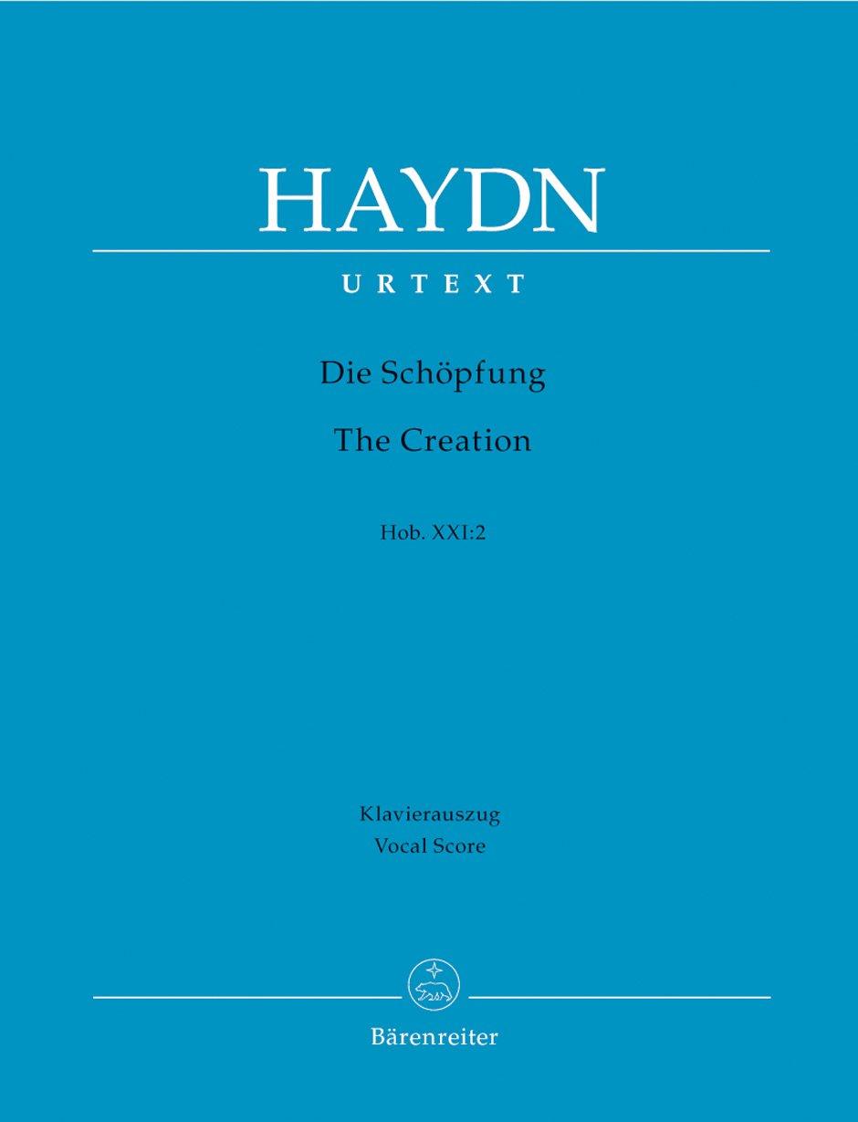 Die Schöpfung (The Creation) Hob. XXI:2. Klavierauszug vokal, Urtextausgabe