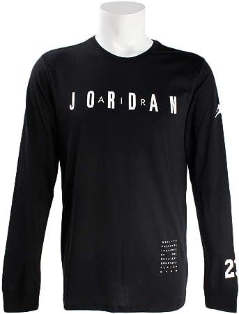 Jordan Ho 1 Camiseta De Manga Larga, Hombre, Black/White, XL: Amazon.es: Deportes y aire libre