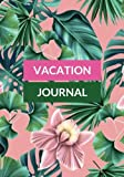 Vacation Journal: Pink & Greens Travel Notebook, Books, Holiday Scrapbook,Travel Planner, Keepsake, Log, Memories   Destination Checklist   Medium Softback (World Cultures) (Volume 20)
