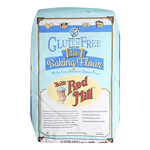 Bob#039s Red Mill Gluten Free 1to1 Baking Flour  25 lb  Bulk Bag