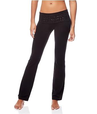 195aefac86 Amazon.com: Aeropostale Womens Bootcut Yoga Pants Black S/31 ...