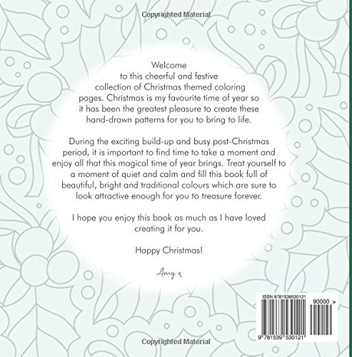 The Christmas Coloring Book A fun and festive collection of