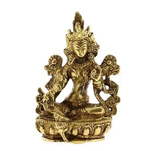 Buda Coleccionables Estatua Tara Estatuillas De Latón Religiosa