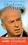 img - for Shalom, Rabin (French Edition) book / textbook / text book