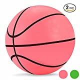 Mini Basketball Kids Game Ball Baby Toys Ball Bouncing Ball for Indoor Outdoor Pool Use 5.5'2 Count