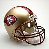 "San Francisco 49ers Full Size Deluxe"" Replica NFL Helmet"""