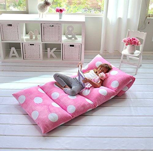 Butterfly Craze Polka Dot Bed Floor Lounger Cover