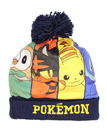 Yellow One Size Pokemon Unisex Pikachu Winking Face Snapback Baseball Cap