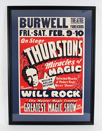 (Thurston's Miracles of Magic Poster Display)