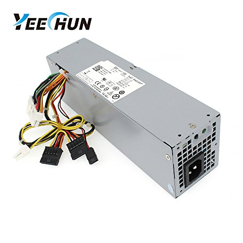 YEECHUN 240W NEW Power Supply for Dell OptiPlex 390 790 960 990 3010 7010 9010 Small Form Factor SFF H240ES-00 D240ES-00 AC240AS-00 AC240ES-00 DPS-240WB L240AS-00 H240AS-00 3WN11 - 180 Days Warranty! by YEECHUN