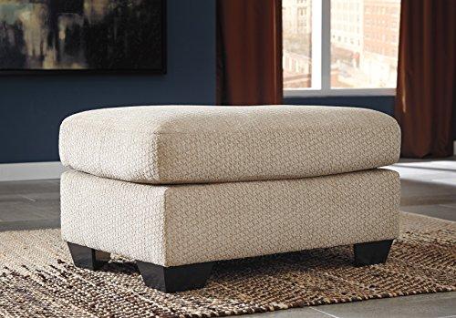 Price comparison product image Wixon Tan Fabric Accent Ottoman