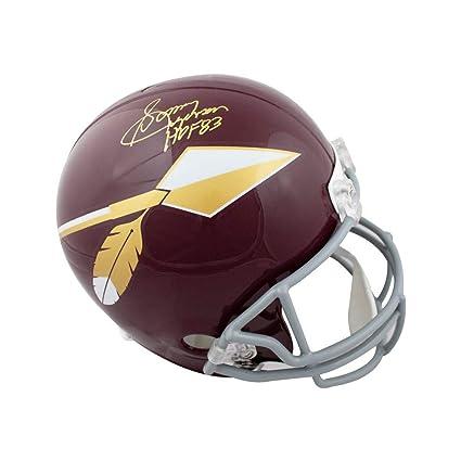 bed9ab9b114 Sonny Jurgensen HOF Autographed Redskins Spear Full-Size Football Helmet -  JSA