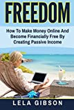 img - for Freedom: How To Make Money Online And Become Financially Free By Creating Passive Income book / textbook / text book