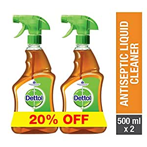 Dettol Antiseptic Trigger 500ml Twin Pack