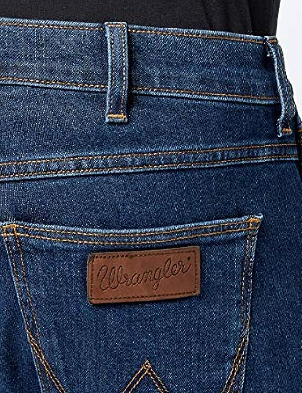 Wrangler Greensboro dżinsy męskie - 36W / 36L: Odzież