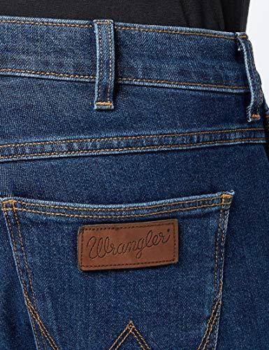 Wrangler Homme Bleu darkstone 090 Greensboro Jeans vwrxqZv
