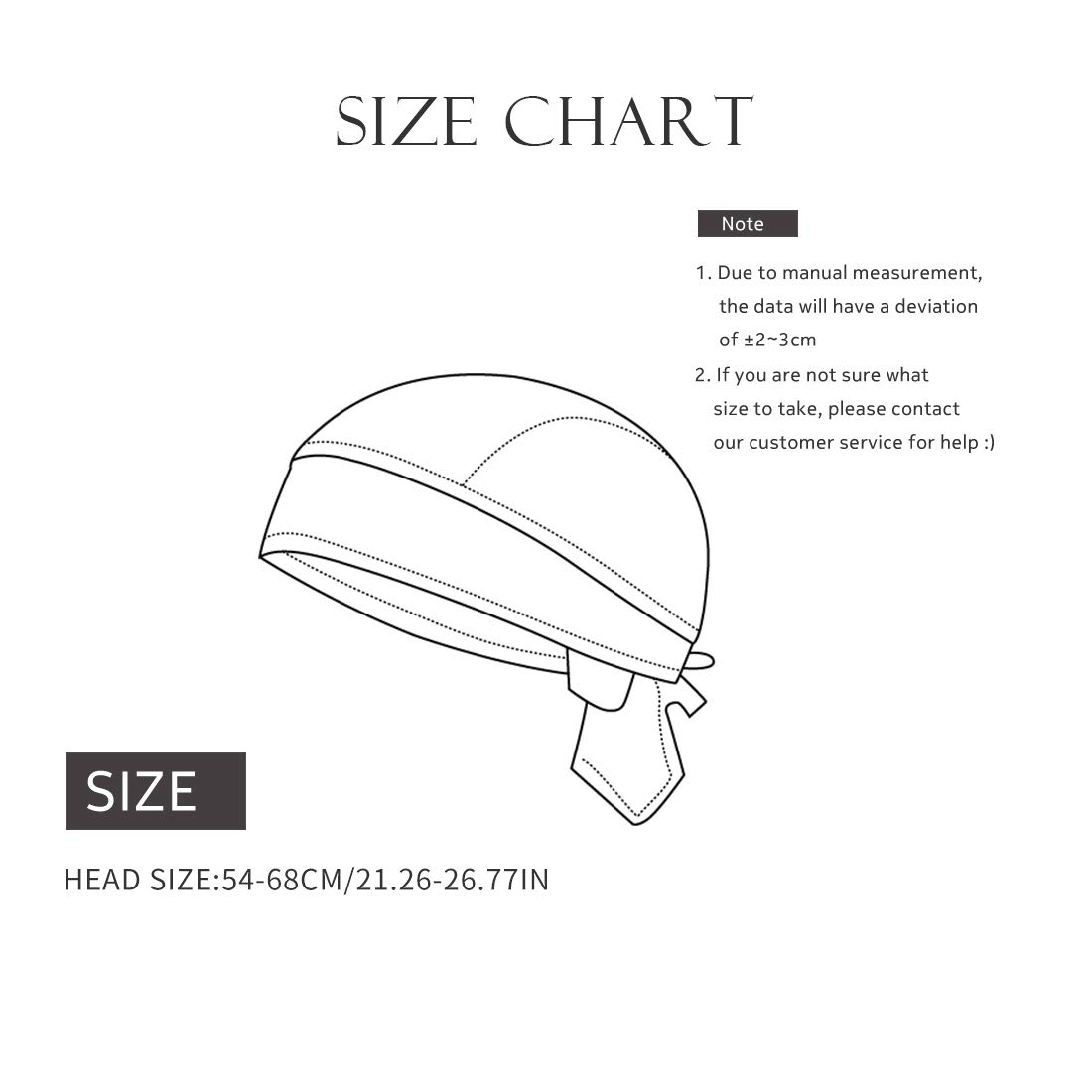 byom.it Stirnbnder & Multifunktionstcher Kopfbedeckungen GWELL ...